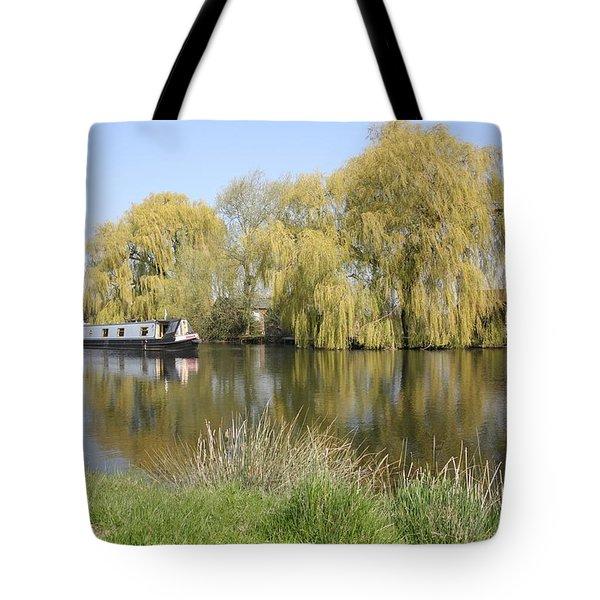 River Transport Tote Bag by Mark Severn