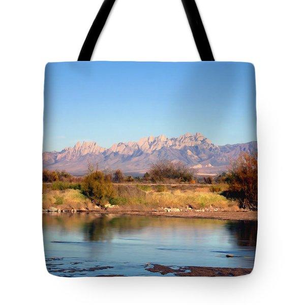 River View Mesilla Tote Bag by Kurt Van Wagner
