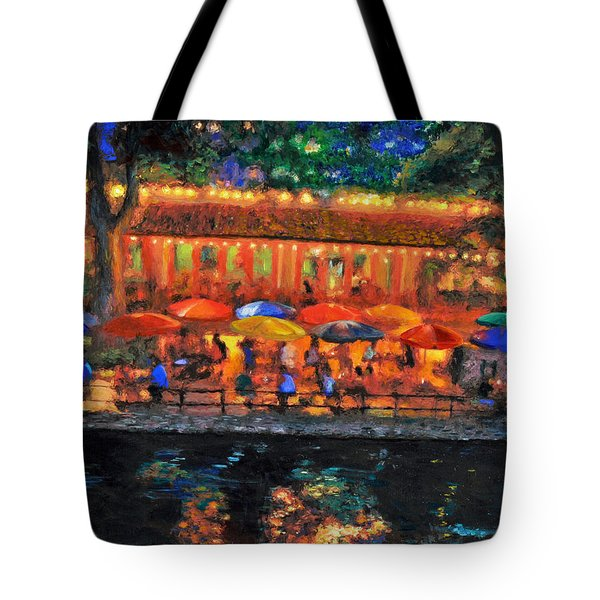 Da190 River Walk By Daniel Adams Tote Bag