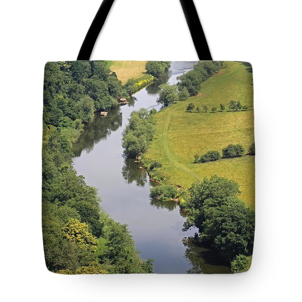 River Wye Tote Bag by Tony Murtagh