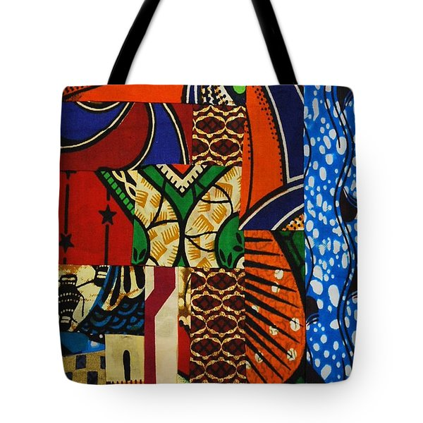 Riverbank Tote Bag by Apanaki Temitayo M