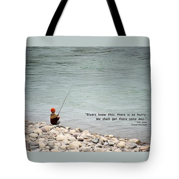 Rivers Know This Tote Bag