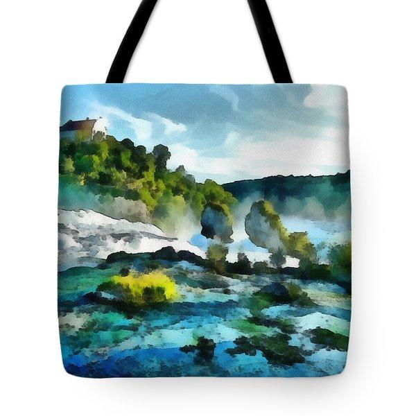 Riverscape Tote Bag by Ayse Deniz