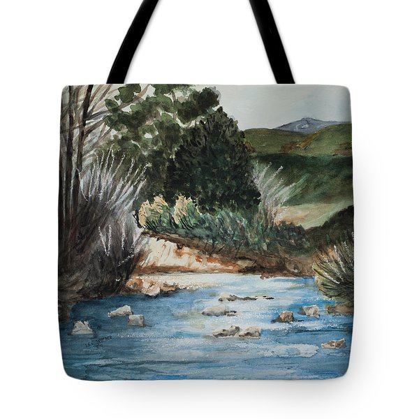 Riverscape Tote Bag by Lee Beuther