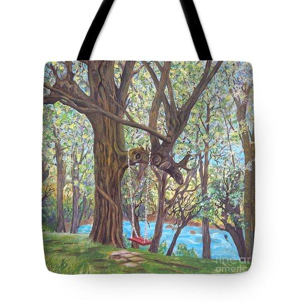 Riverside Tote Bag by Caroline Street