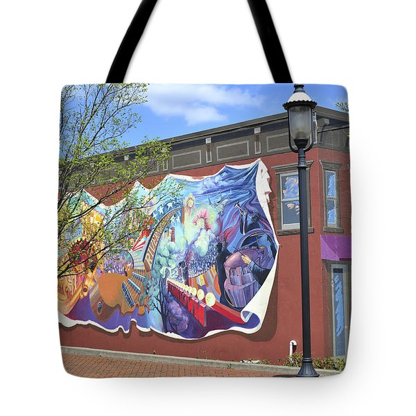 Riverside Gardens Park In Red Bank Nj Tote Bag