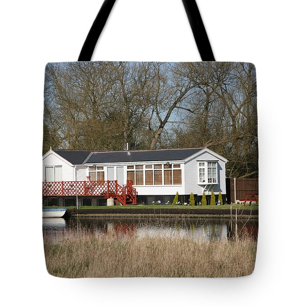 Riverside Retreat Tote Bag by Mark Severn