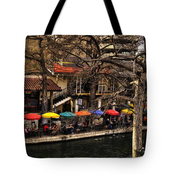 Tote Bag featuring the photograph Riverview by Deborah Klubertanz