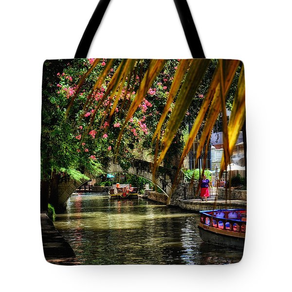 Riverwalk II Tote Bag