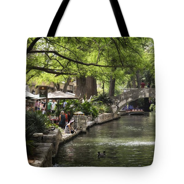Tote Bag featuring the photograph Girl By The Water by Steven Sparks