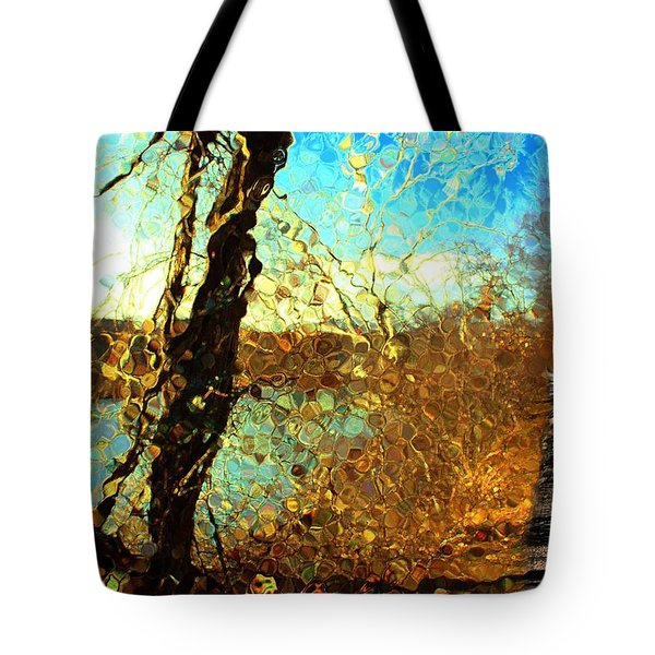 Riverwalk Tote Bag by Terence Morrissey