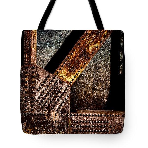 Rivets  Tote Bag by Bob Orsillo