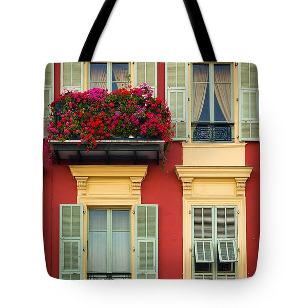 Riviera Windows Tote Bag by Inge Johnsson