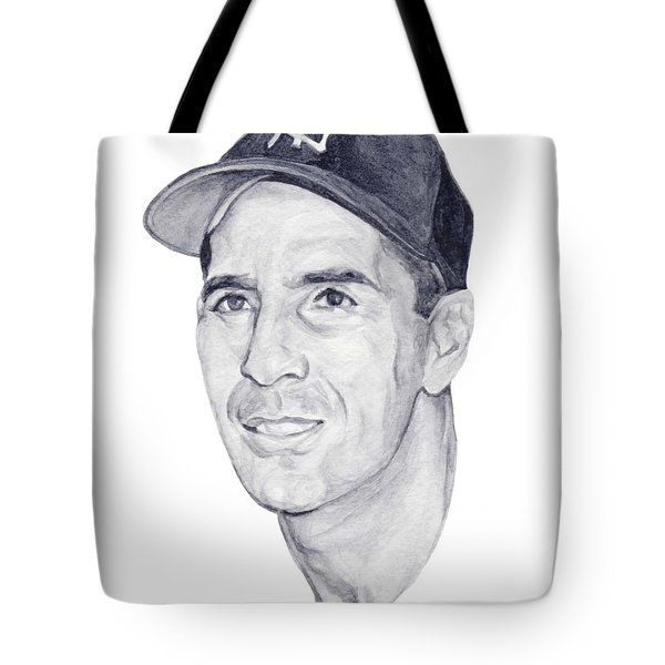 Tote Bag featuring the painting Rizzuto by Tamir Barkan
