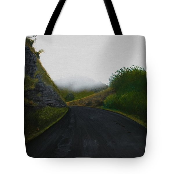 Road Near Gresford Nsw Tote Bag