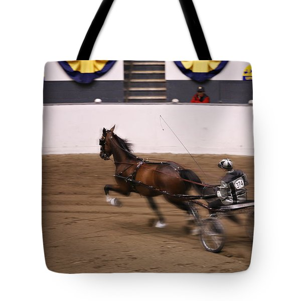 Tote Bag featuring the photograph Road Pony At Speed by Carol Lynn Coronios