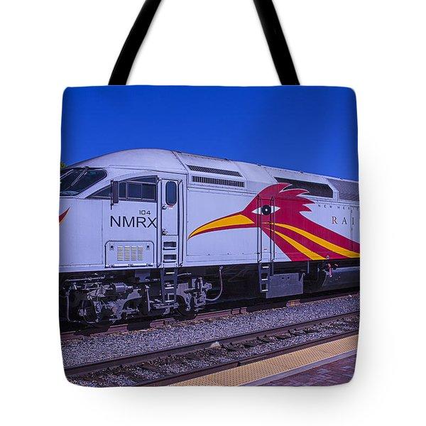 Road Runner Express Train Tote Bag
