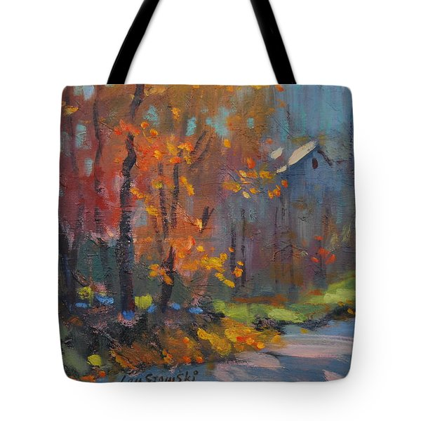 Road South Tote Bag