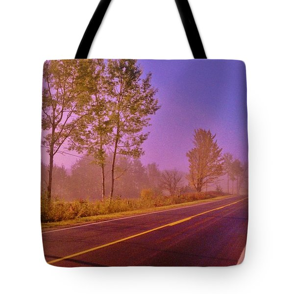 Tote Bag featuring the photograph Road To... by Daniel Thompson