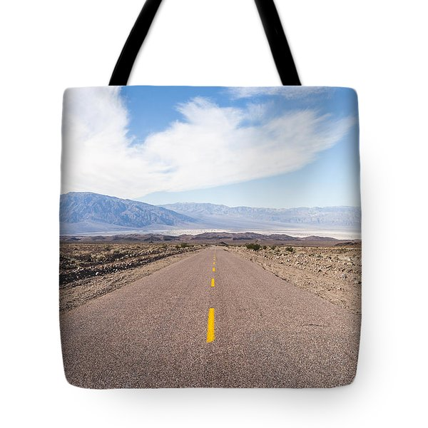 Road To Death Valley Tote Bag