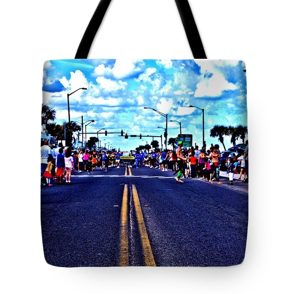 Road To Infinity Tote Bag
