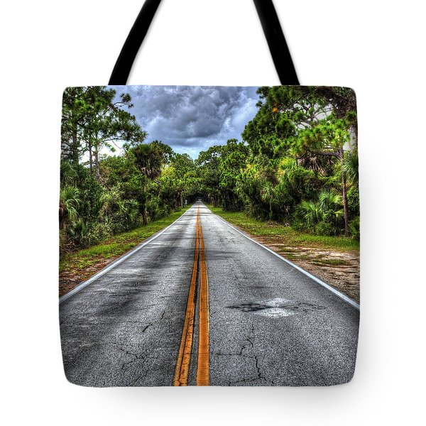 Road To No Where Tote Bag