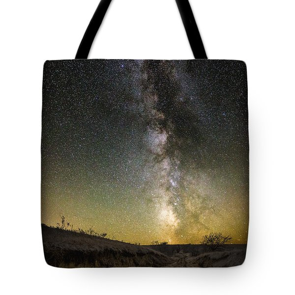 Road To Nowhere - Great Rift Tote Bag