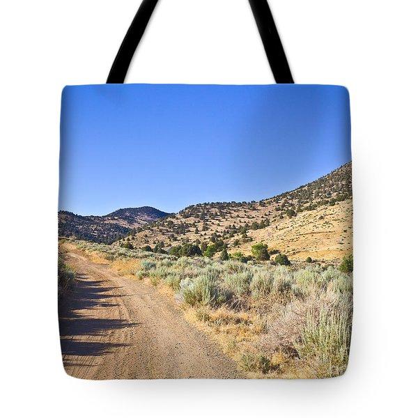 Road To Nowhere - Storey Nevada Tote Bag