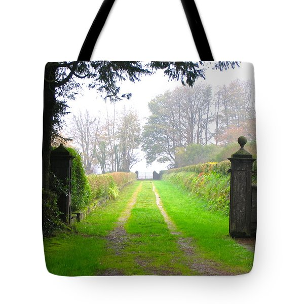 Road To Nowhere Tote Bag by Suzanne Oesterling