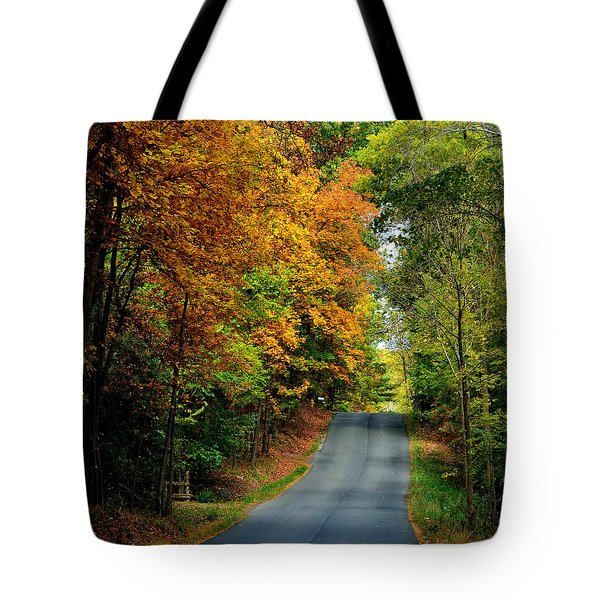 Road To Riches Tote Bag by Carlee Ojeda