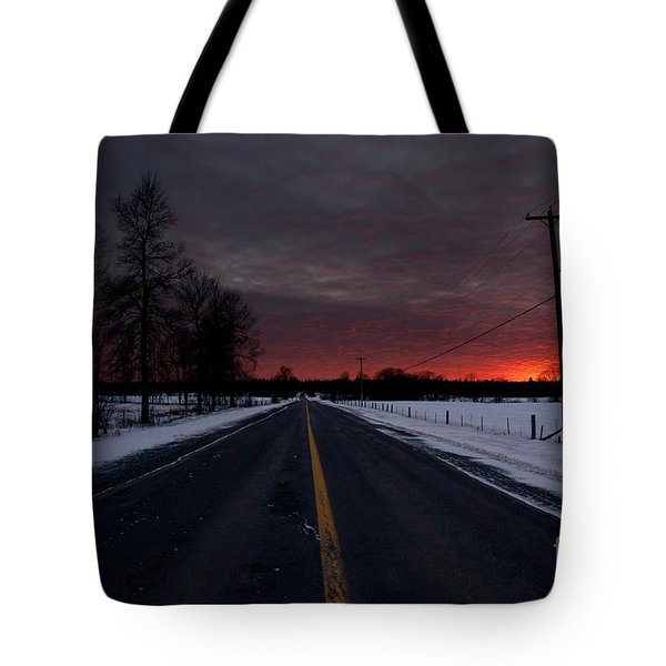 Road To Success Tote Bag by Cheryl Baxter