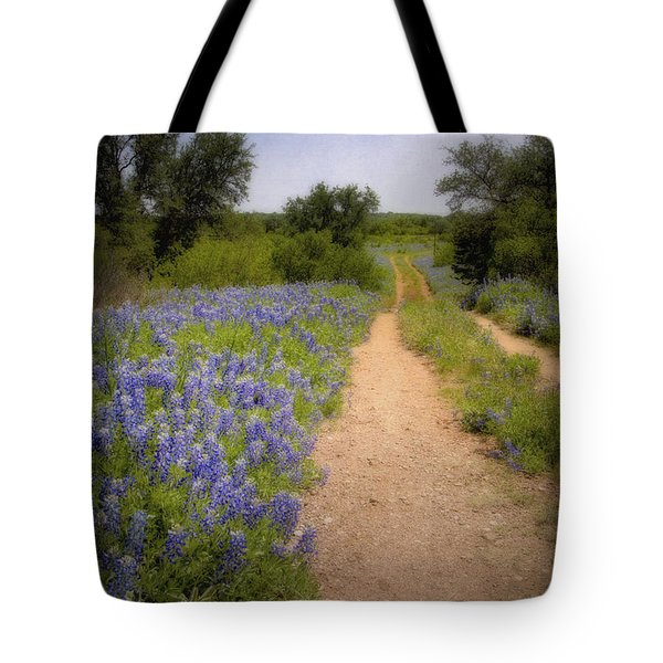 Road To The North Forty Tote Bag by David and Carol Kelly