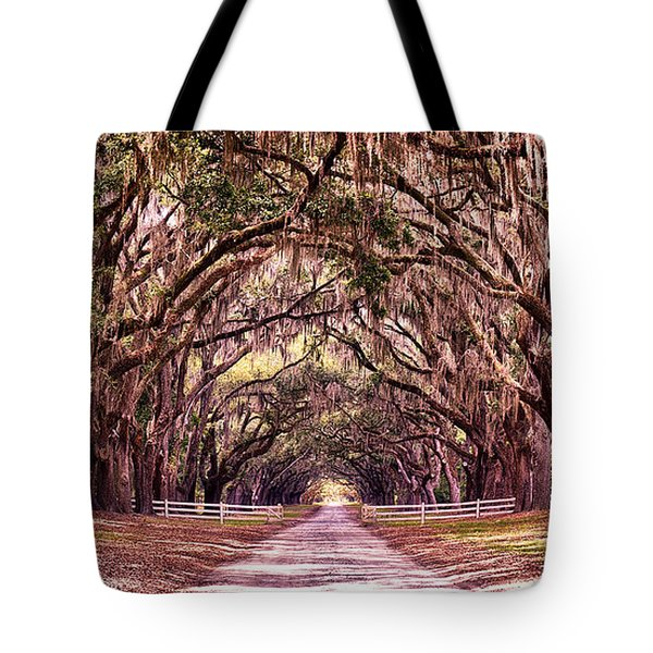 Road To The South Tote Bag by Renee Sullivan