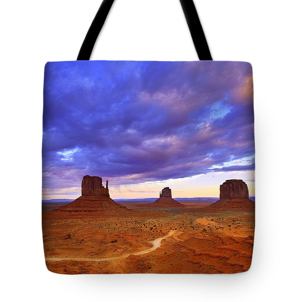 Tote Bag featuring the photograph Skyscrapers by Kadek Susanto