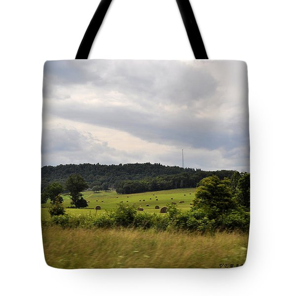 Tote Bag featuring the photograph Road Trip 2012 by Verana Stark
