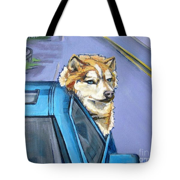 Road-trip - Dog Tote Bag