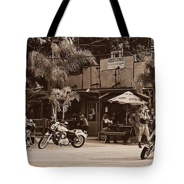 Roadhouse Tote Bag by Laura Fasulo