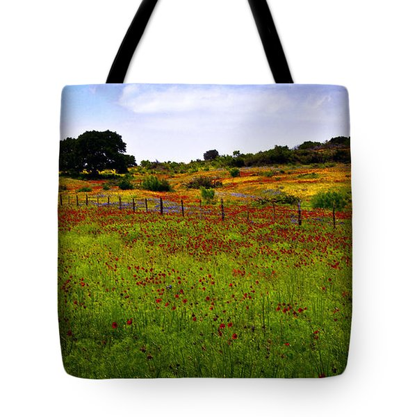 Roadside Flowers Tote Bag by Tamyra Ayles