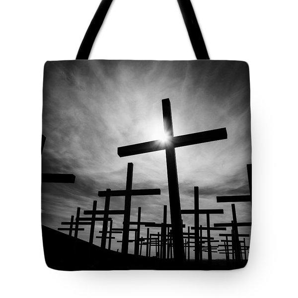 Roadside Memorial Tote Bag