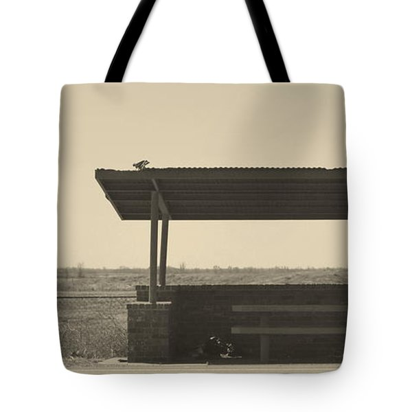 Roadside Rest Tote Bag