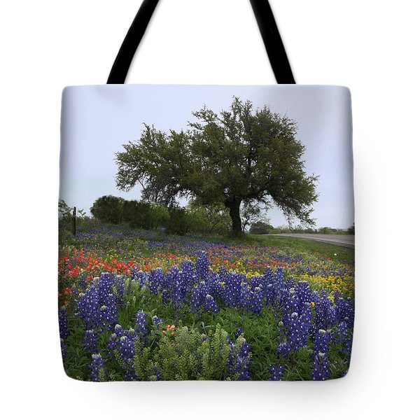 Tote Bag featuring the photograph Roadside Splendor by Susan Rovira
