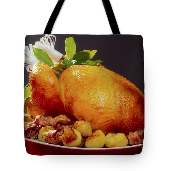 Roast Turkey Tote Bag by The Irish Image Collection