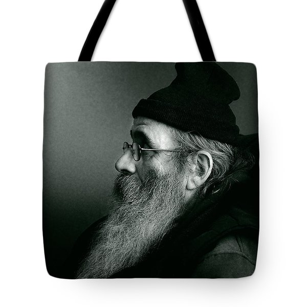 Rob Profile Redux Duotone Tote Bag