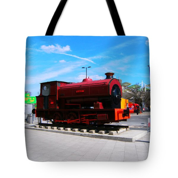 Tote Bag featuring the photograph Robert At Stratford In Summer by Mudiama Kammoh