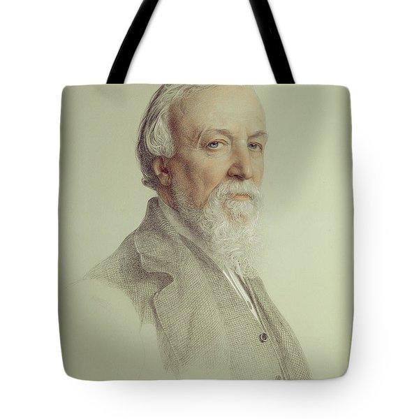 Robert Browning , 1881 Tote Bag