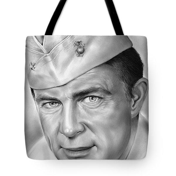 Robert Conrad As Pappy Boyington Tote Bag