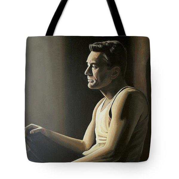 Robert De Niro Tote Bag by Paul Meijering