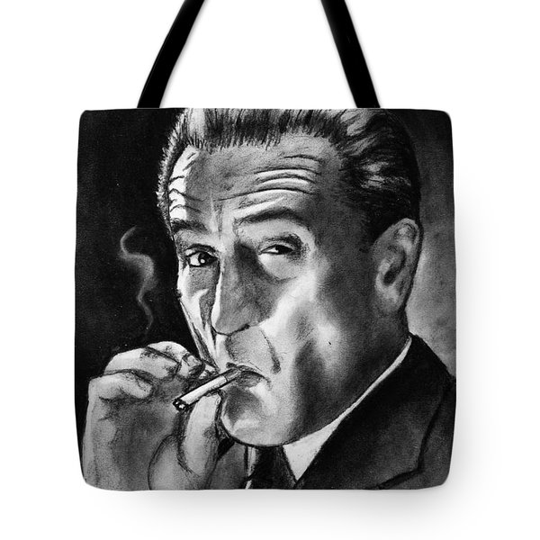 Robert De Niro Tote Bag by Salman Ravish