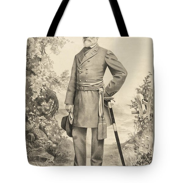 Robert E Lee Tote Bag by Bill Cannon
