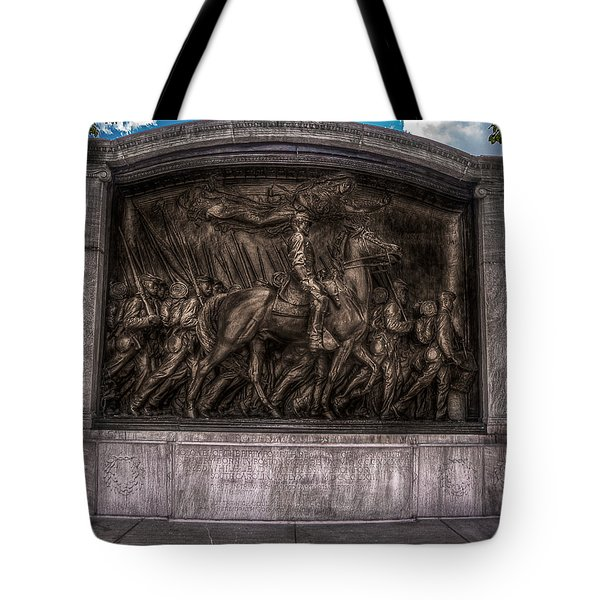 Robert Gould Shaw Memorial On Boston Common Tote Bag